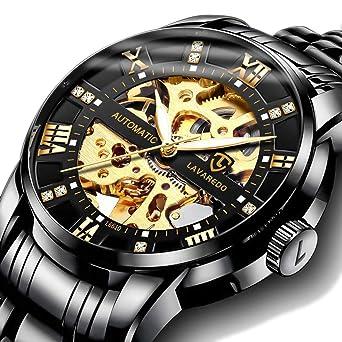 Amazon.com: Reloj para hombre, de lujo, clásico, con ...