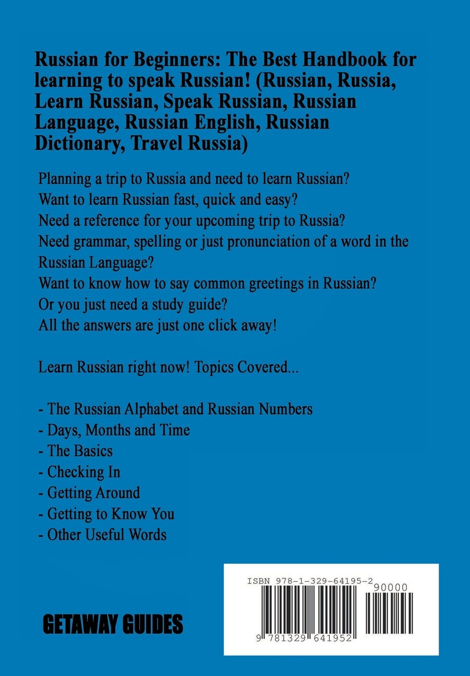Buy Russian For Beginners Book Online At Low Prices In India