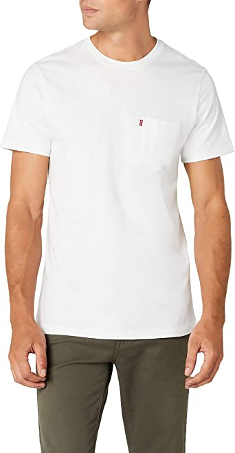 Levis SS Set-in Sunset Pocket Camiseta para Hombre: Amazon.es: Ropa y accesorios
