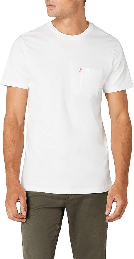 Levis SS Set-in Sunset Pocket Camiseta para Hombre: Amazon.es: Ropa y accesorios