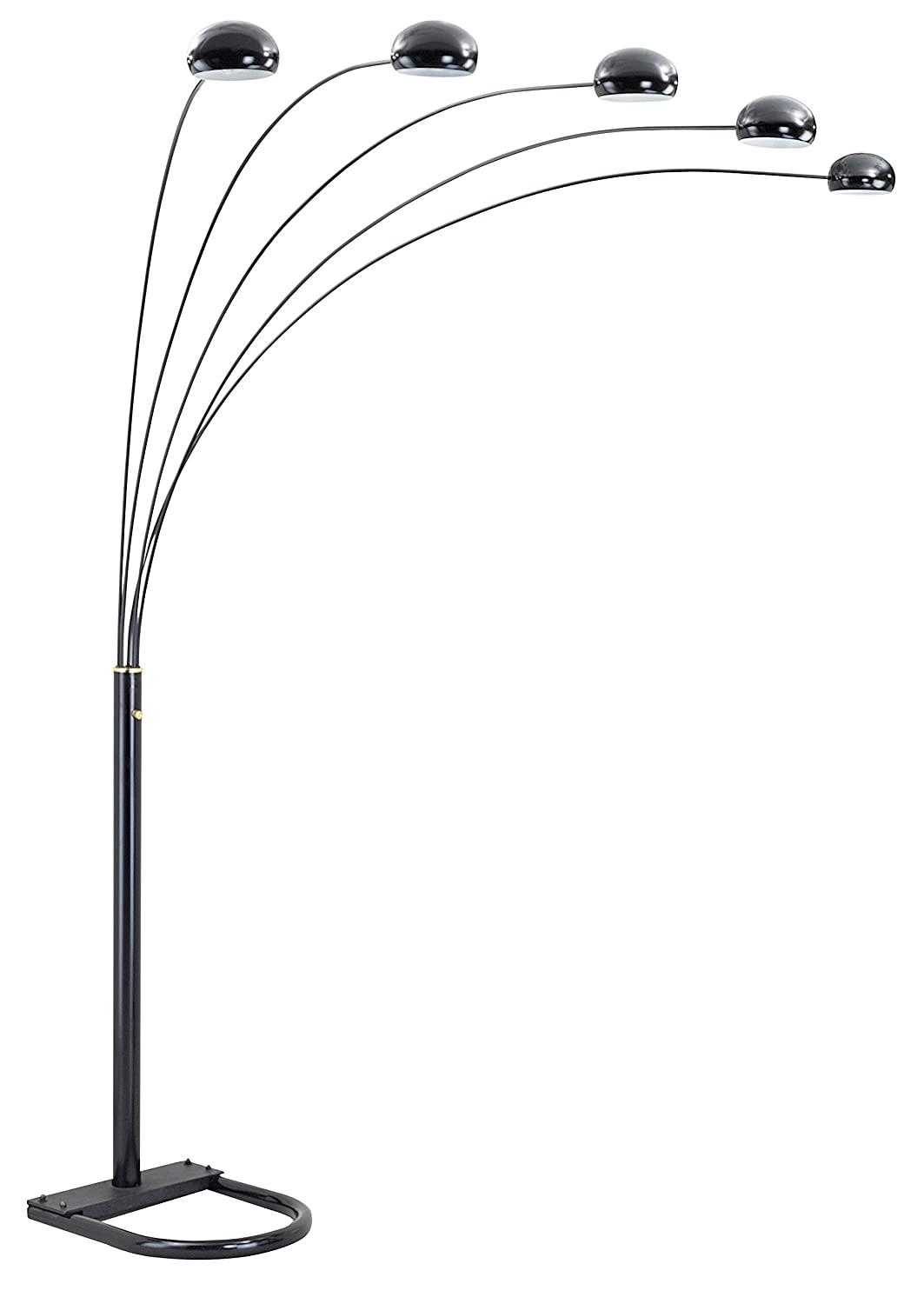 Amazon ok lighting ok 9628k 5 arch floor lamp 88 inch amazon ok lighting ok 9628k 5 arch floor lamp 88 inch polished black home improvement mozeypictures Image collections