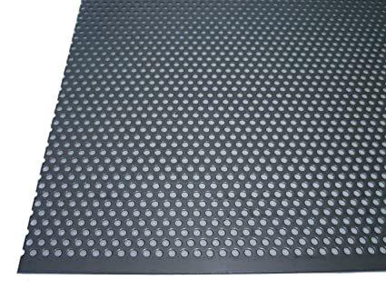 Acero inoxidable perforado 1,5 mm de grosor rundlochung 3 mm ...