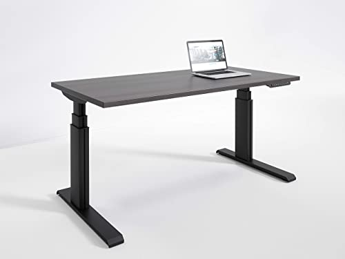 RightAngle Elegante Electric Height Adjustable Standing Desk Commercial Grade