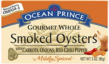 Crown Prince Ocean Gourmet Whole Smoked Oysters