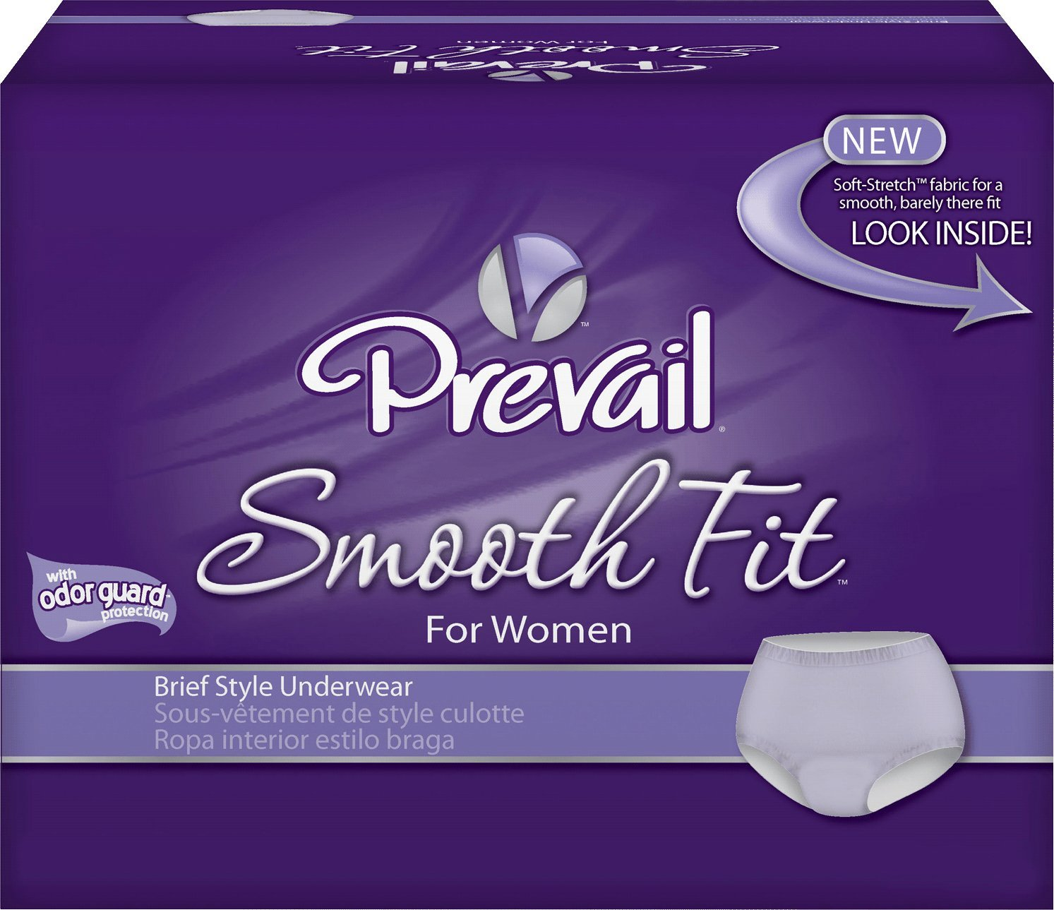 Amazon.com: FIRST QUALITY FQPSF512 Prevail SmoothFit Protective Underwear, Small & Medium - 28 to 40 in.: Health & Personal Care