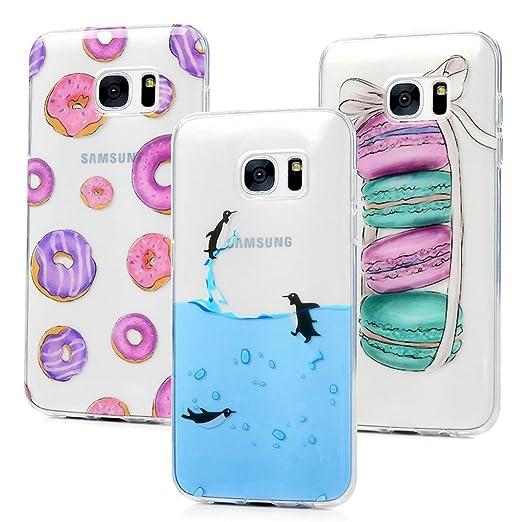 3 opinioni per 3x Cover per Samusng Galaxy S7 Edge,