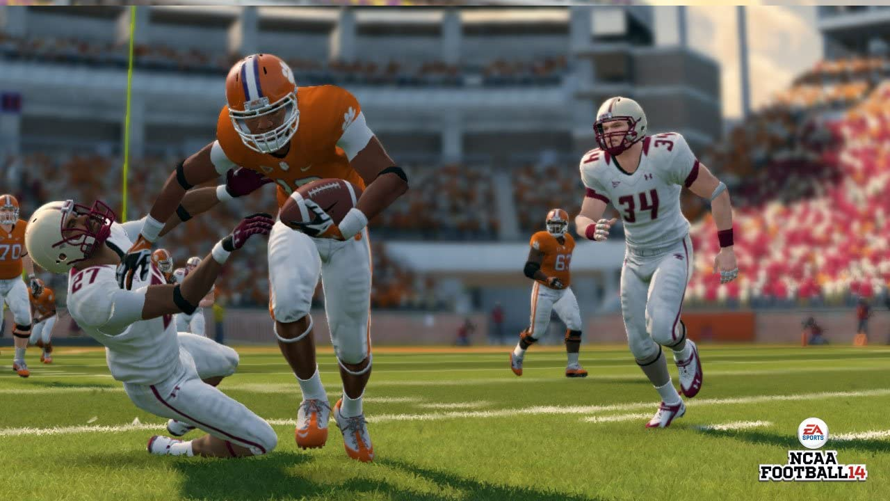 01b3fa829 Amazon.com  NCAA Football 14 - Xbox 360  Video Games