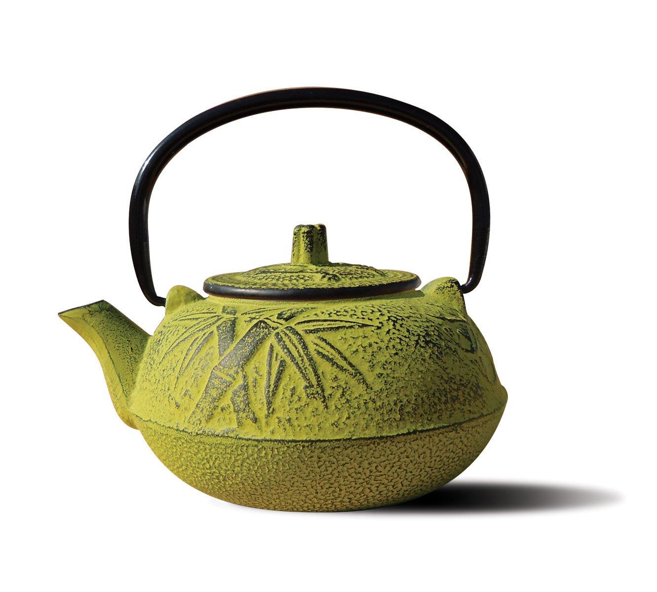 Amazon.com: Old Dutch Cast Iron Osaka Teapot, 20-Ounce, Moss Green ...