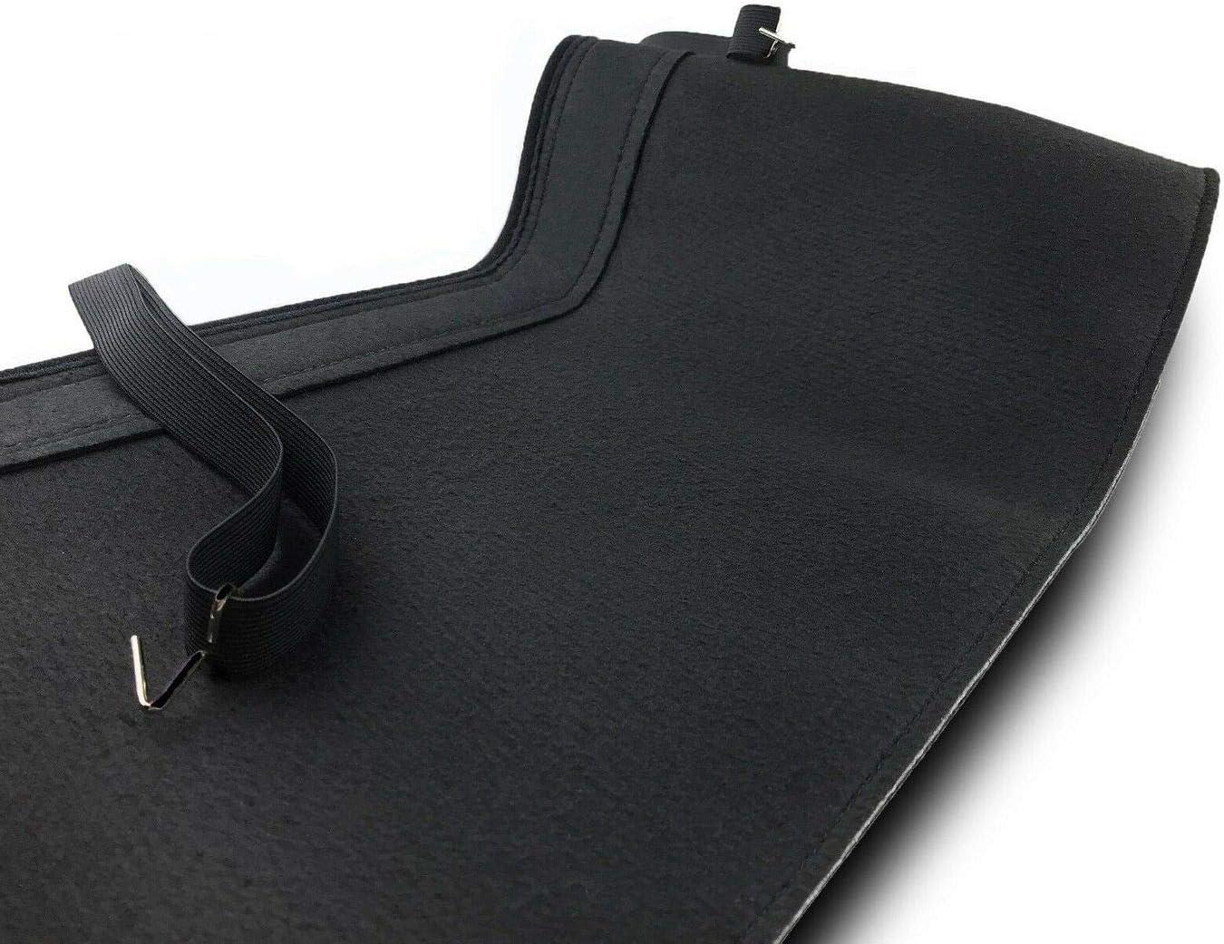 Stoneguard Black Stone impact protection Tief Tech Bonnet Hood Bra for 5-Serie E60 // E61 Engine Hoodcover
