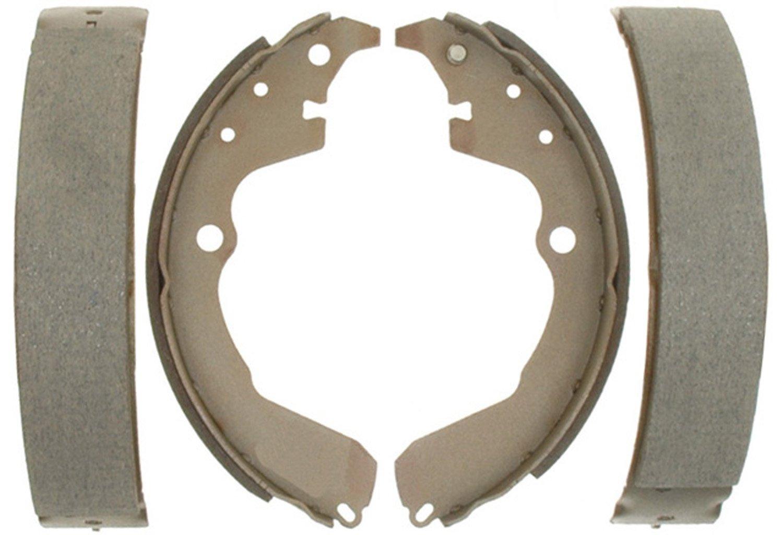 ACDelco 14785B Advantage Bonded Rear Brake Shoe Set with Hardware
