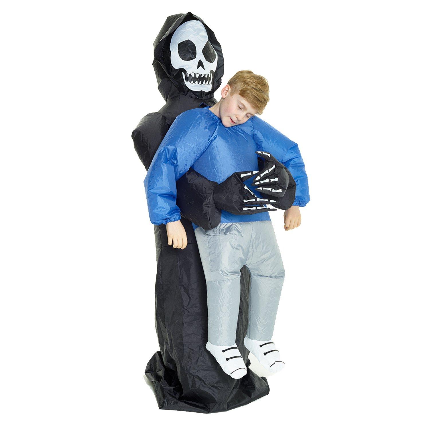 Taglia unica Morph Costume da Sollevami Gonfiabile Alieno Adulti