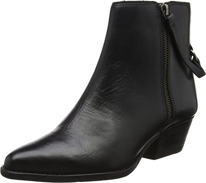 Hudson London Damen Larry Stiefel Schwarz (Black) 37 EU