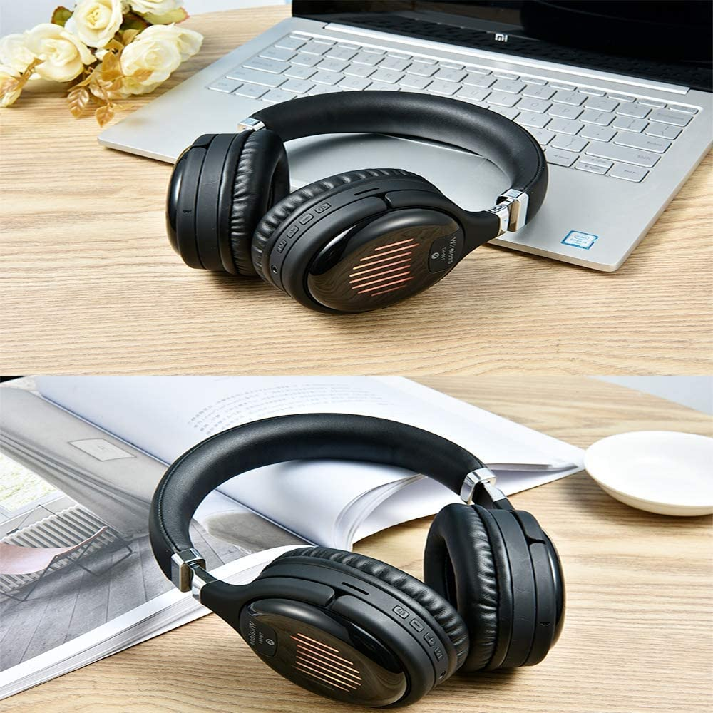 Computer Notebook high-Definition Headset with Noise Reduction Gaming Headset LED BFSHY Bluetooth Headset Stereo Gaming Headset