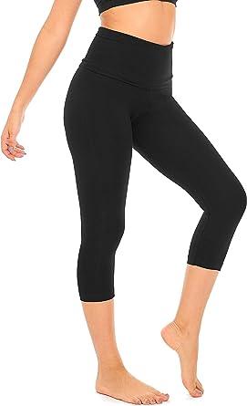 Hollywood Star Fashion Womens Capri Crop Yoga Trousers