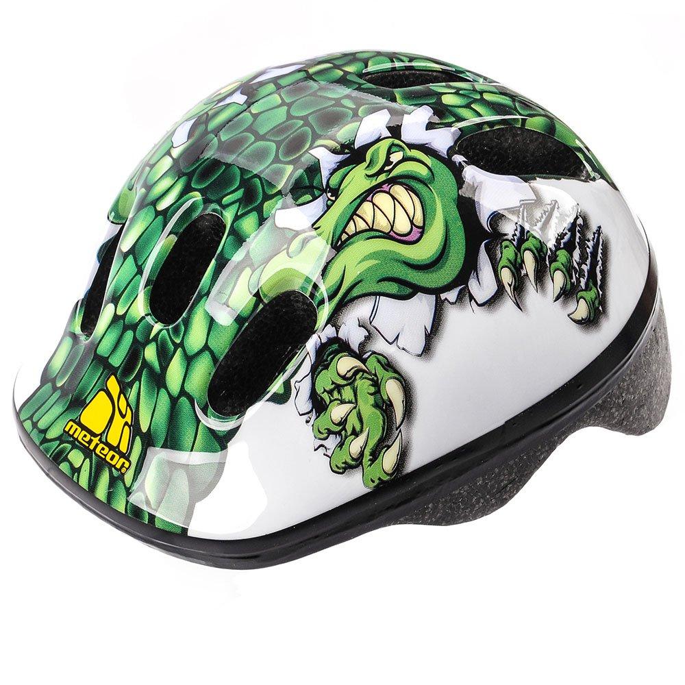 Meteor® Bicicleta Casco MV6 – 2 cascos: – Rueda para casco para ciclista Deportes infantil y juvenil; para Hover Board, – Patines, BMX Bicicleta, Scooter. Diseñado para la seguridad de los usuarios más: El Casco tiene una variable de regulación del Circuit