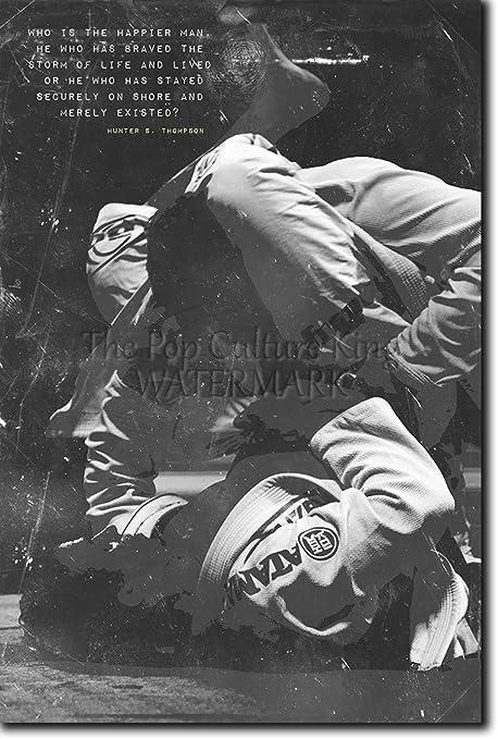 Jiu-Jitsu motivacional, póster o afiche. 01