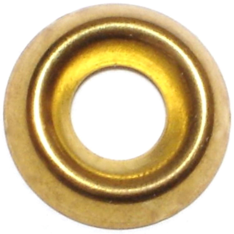 Hard to Find Fastener 9 Finishing Washer Brass 12 Piece 100
