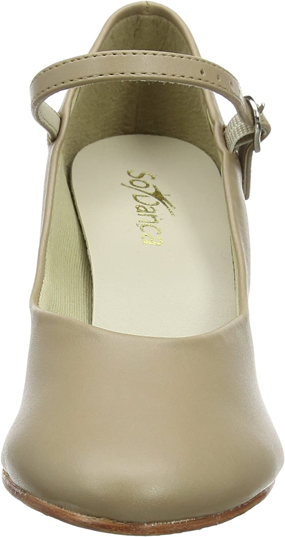 SoDanca CH52 Womens Character Shoe 2in Heel Tan 10M US