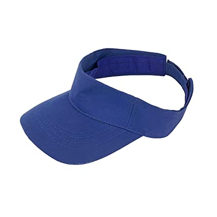 c8c6b68535e079 DELHITRADERSS® Cotton Sunhat Beach Baseball Visors Tennis Mens/Women's Cap  Navy Blue: Amazon.in: Car & Motorbike