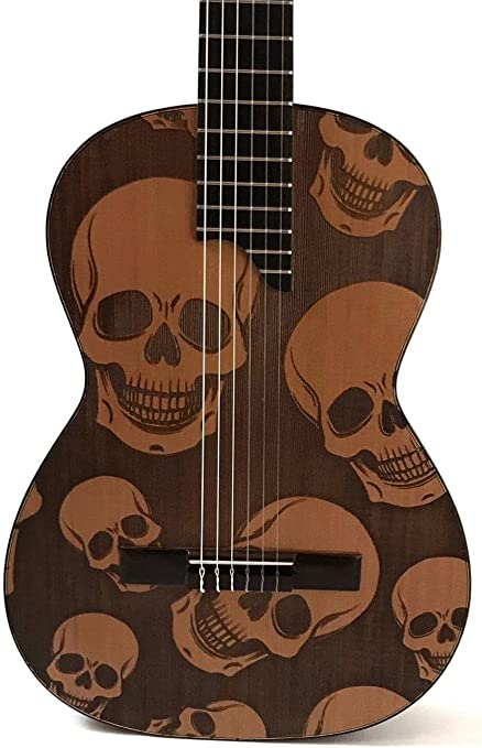 Guitarra TOLEDO TT-10C CALAVERAS: Amazon.es: Instrumentos musicales