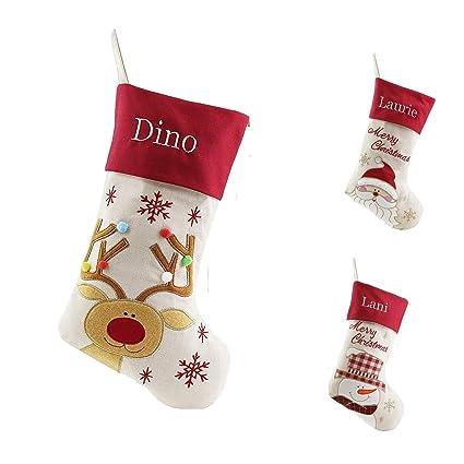 Amazon Com Kuayi Personalized Christmas Stockings Embroidered