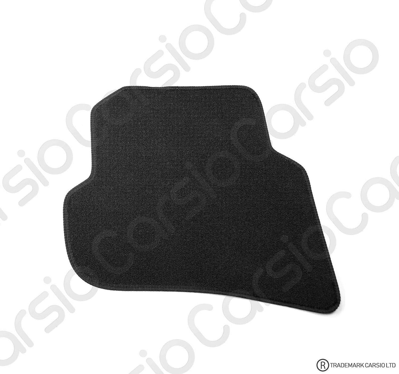 Carsio Tailored Black Carpet Car Mats for Seat Ibiza 2008 to 2017-4 Piece Set