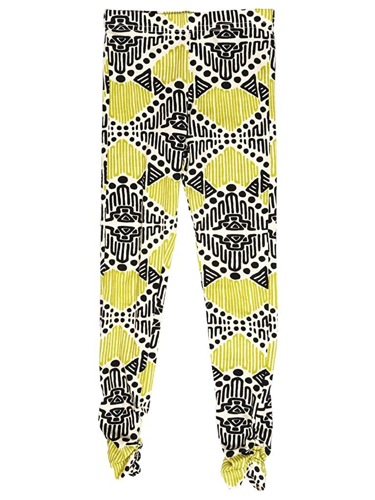 Mixed Up Clothing Big Girls Tribal Print Ruched Leggings