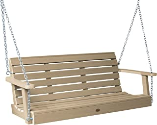 product image for highwood AD-PORW2-TAU Weatherly Porch Swing, 4 Feet, Tuscan Taupe