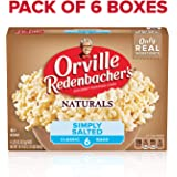 Orville Redenbacher's Naturals Simply Salted Microwave Popcorn, 6-Count (Pack of 6)