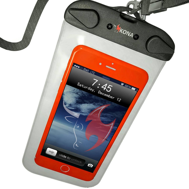Submariner Waterproof Phone Pouch - Heavy/Duty Universal Waterproof Case for Apple iPhone X 8 7 6 Samsung S10 S9 S8 S7 Note HTC LG Sony Nokia Motorola