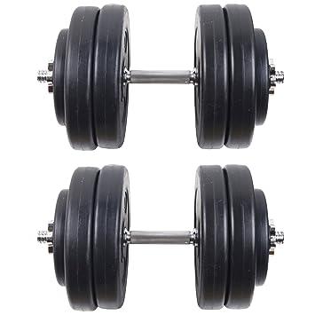 GERMANY STOCK Juego de mancuernas Peso Gimnasio Entrenamiento bíceps tríceps con pesas Formación