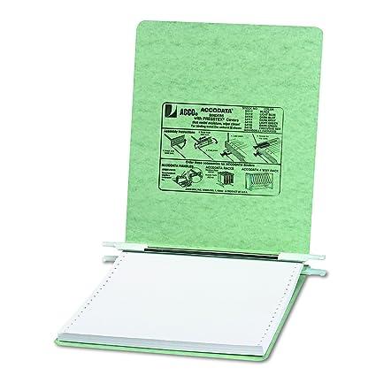 amazon com acco pressboard hanging data binder 9 5 x 11 inches