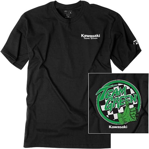 71b792156df87 Amazon.com  Factory Effex 1983112 Kawasaki Team Green Youth T-Shirt ...