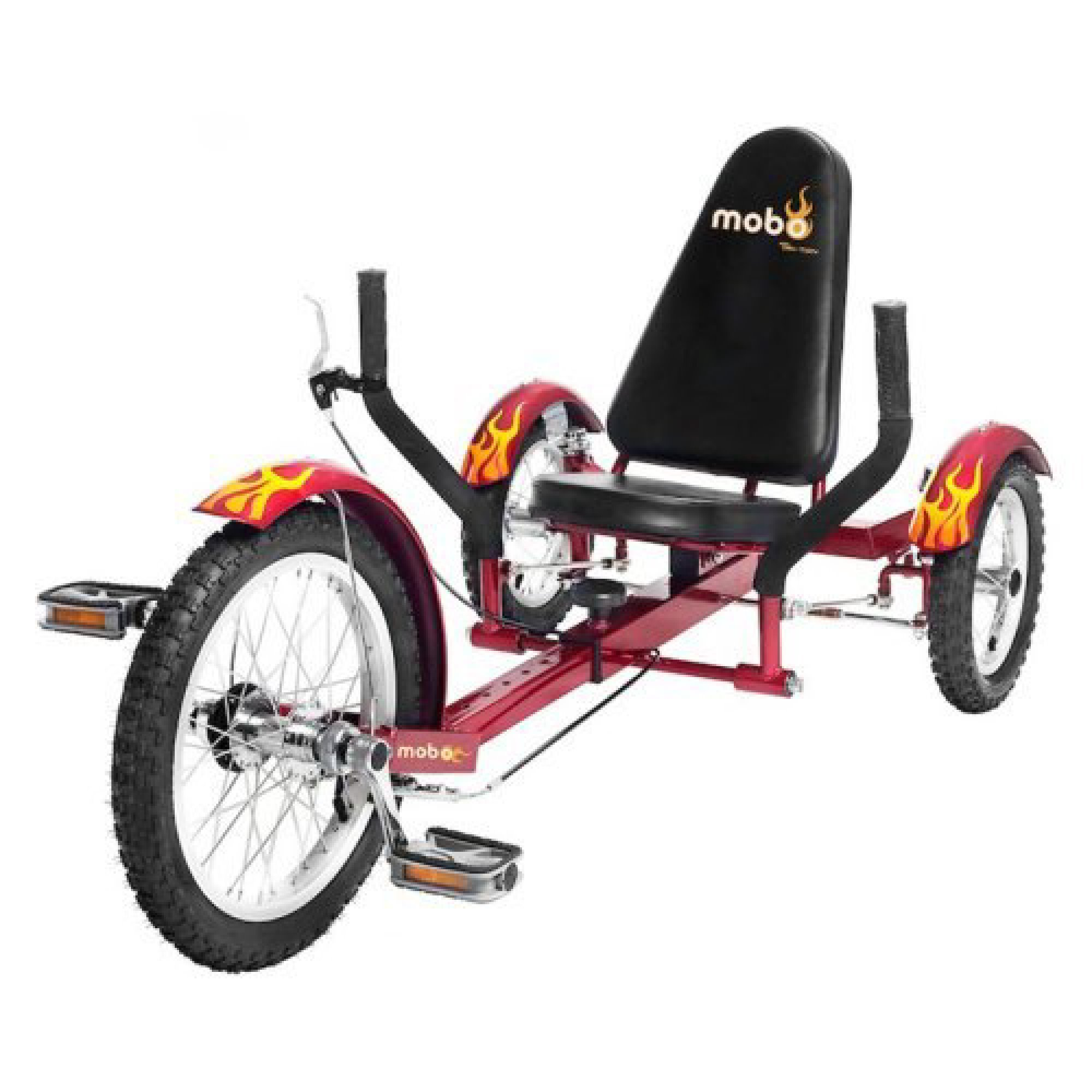 Mobo Triton 16 in. Youth The Ultimate Three Wheeled Cruiser Recumbent Bicycle