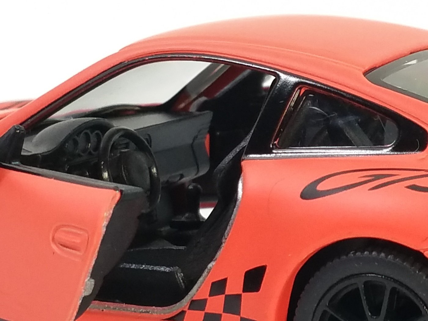 Rose Matte Maquette de Voiture /à l/échelle 1//36 /échelle R/étractable Action Kinsmart Porsche 911 GT3 RS 2010 Orange