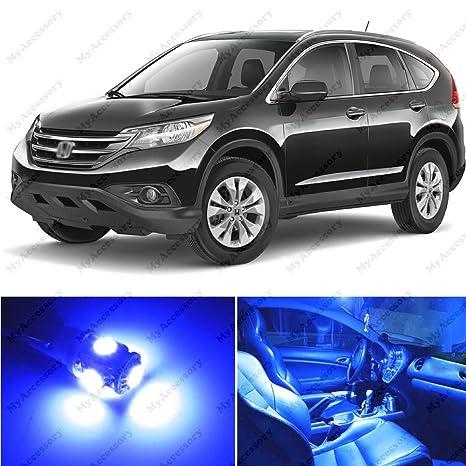 8 x PREMIUM azul LED luces interior kit de paquete para Honda CR-V 2012