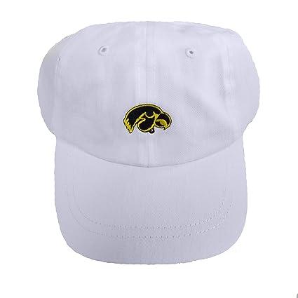 Future Tailgater Iowa Hawkeyes Baby Baseball Cap - White (Baby 3-12 Months) 244c8e8a3b0c