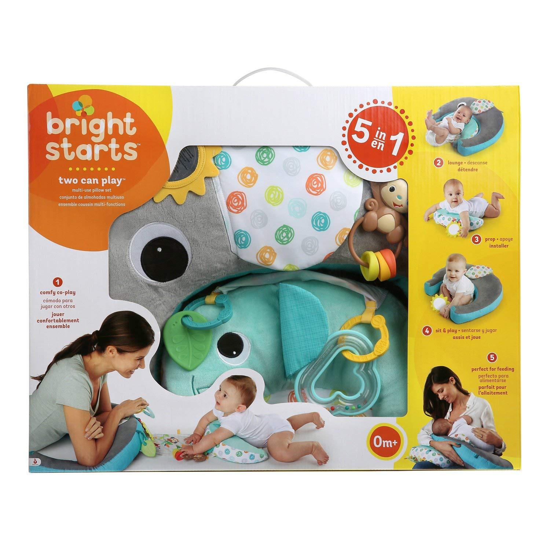 Amazon.com: bright starts dos pueden jugar multiusos juego ...