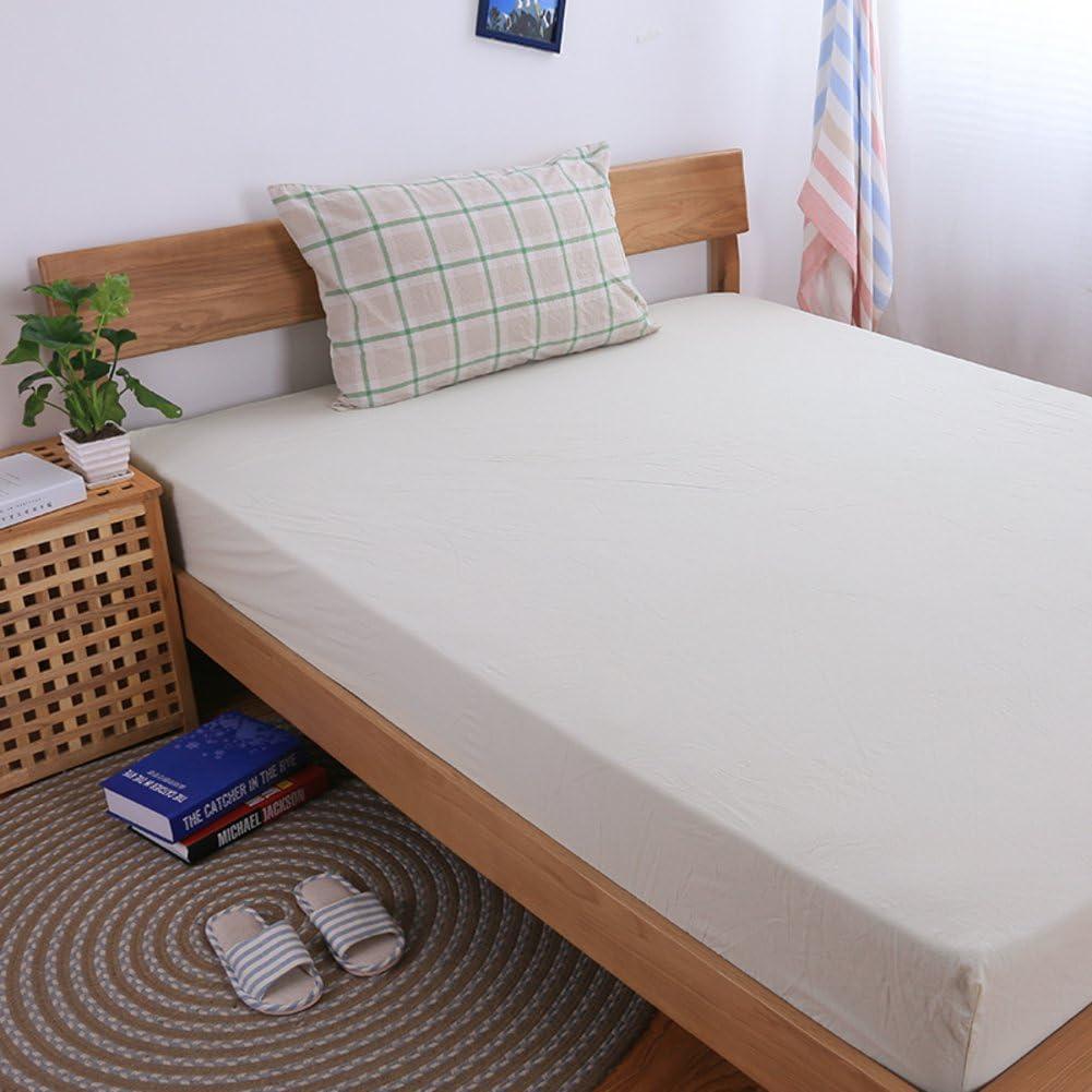 muji Lavado sábanas/ cama de algodón de una sola pieza Mikasa/Color sólido dos sábanas de algodón-H 180x200cm(71x79inch): Amazon.es: Hogar