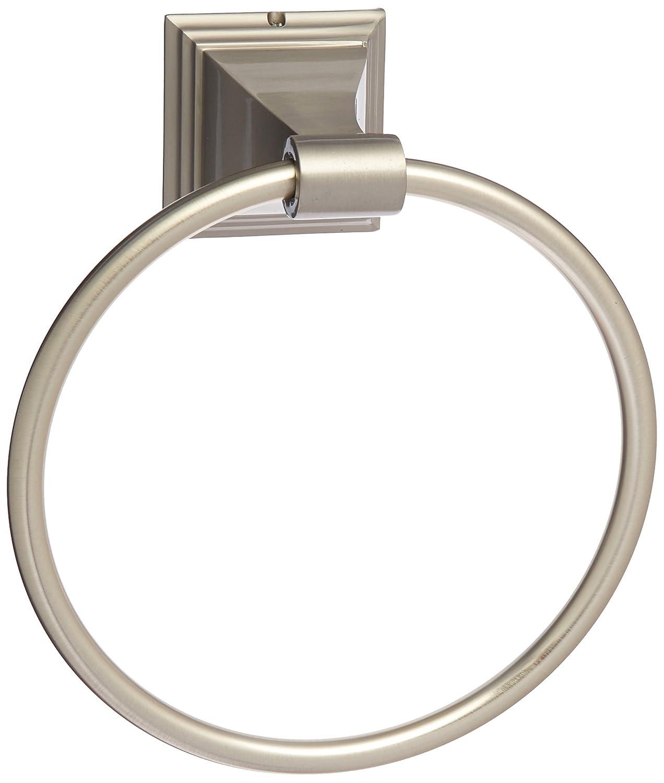 On Sale Satin Brushed Nickel Bathroom Towel Ring