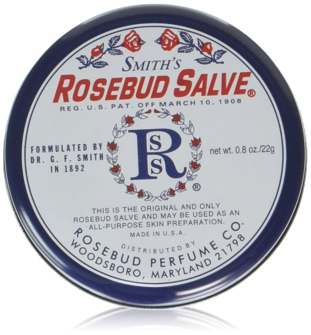 Rosebud Perfume Co. Lip Salve-Rosebud, 2 pack by Rosebud Perfume Co.