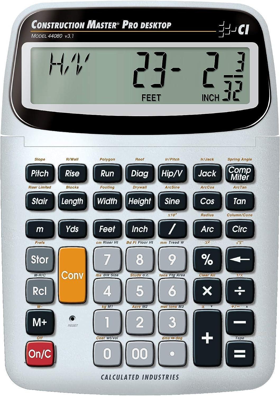 Best construction master calculator 2020