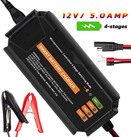 maintainer with automatic switching 12v 3 AMP automotive battery charger