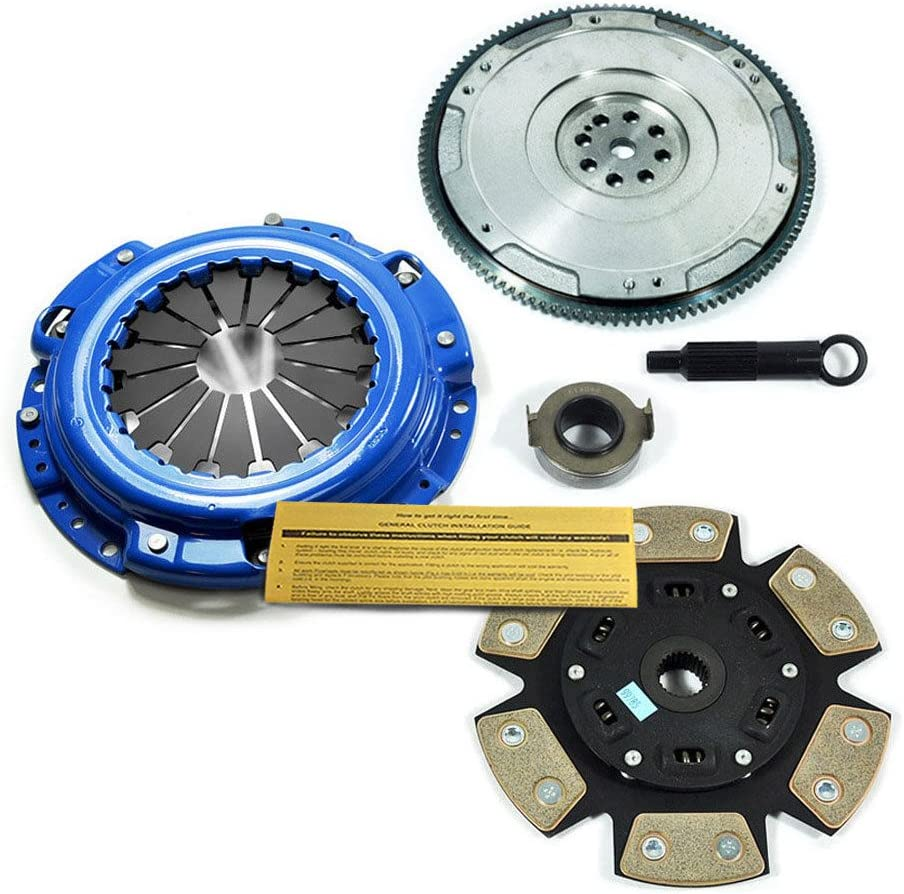 FLYWHEEL FOR HONDA ACCORD PRELUDE ACURA CL F22 F23 H22 H23 EFT STAGE 3 CLUTCH KIT