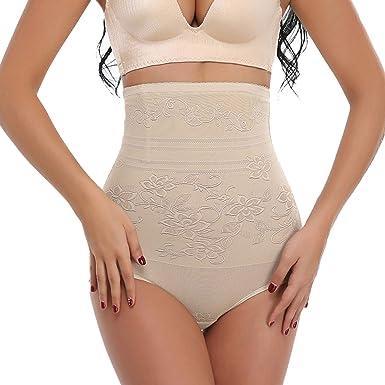 2cd073d1f1d1 SLIMBELLE Women's High Waist Control Panties Butt Lifter Hip Buttock  Enhancer Belly Trainer Slimmer Underwear Shapewear