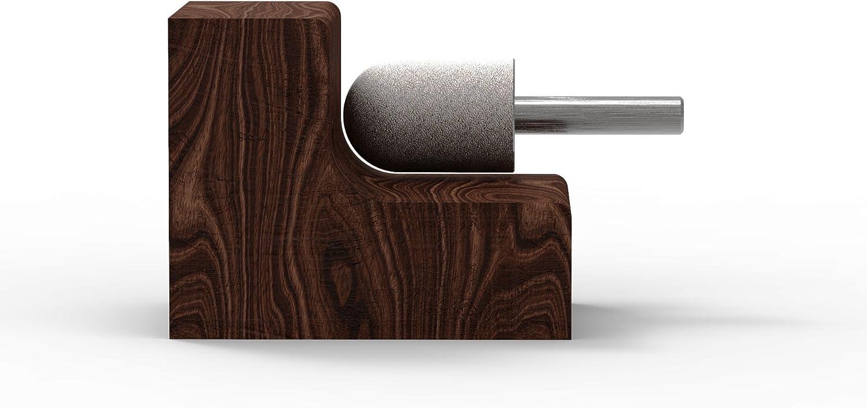 19mm - fine couche de carbure de tungst/ène: 3//4 1//4 6,3 mm Kutzall Nez dorigine /à billes bavure arbre