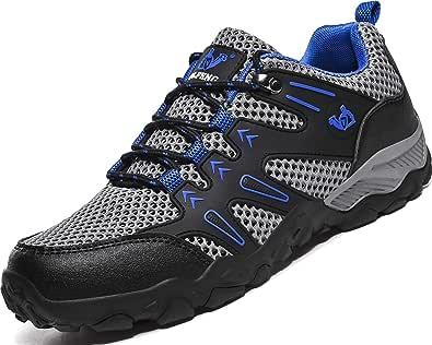 Lvptsh Zapatillas de Trekking para Mujer Transpirable Zapatillas de Senderismo Calzado de Trekking AL Aire Libre Antideslizantes Botas de Montaña