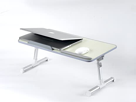 Amazoncom Laptop Bed Tray Table Adjustable Laptop Stand