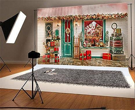 YongFoto 2,2x1,5m Vinilo Fondo de Fotografia Navidad Decoración ...