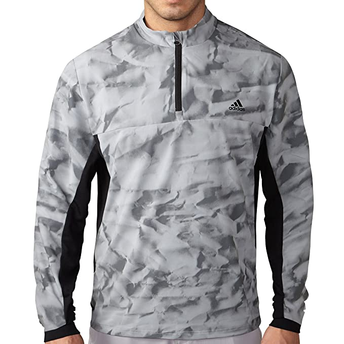 e8813202749 adidas Golf 2016 da uomo Climastorm concorrenza antivento Giacca a vento,  Uomo, Mens Grey/black Sml, Mid Grey, S: Amazon.it: Abbigliamento